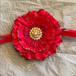 Tieks Magenta Flower